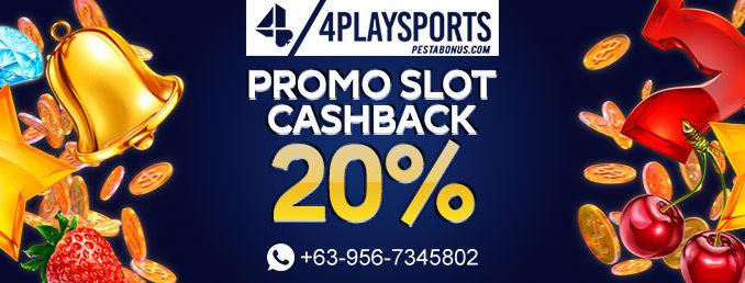 Promo Cashback Slot 4playsports