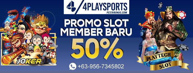 Promo Slot 50%