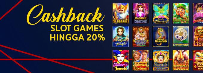 Promo Slot Cashback 20%