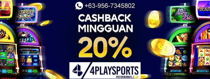 Promo Welcome Cashback 20%
