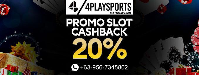 QQ Slot Promo Cashback 20%