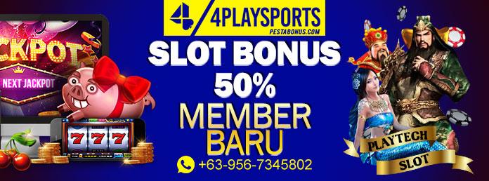 Slot Bonus 50% Member Baru Promo Spesial Dari Superbola