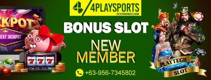bonus slot new member 4playsports