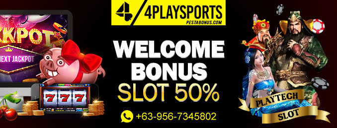 welcome bonus slot 50% 4playsports