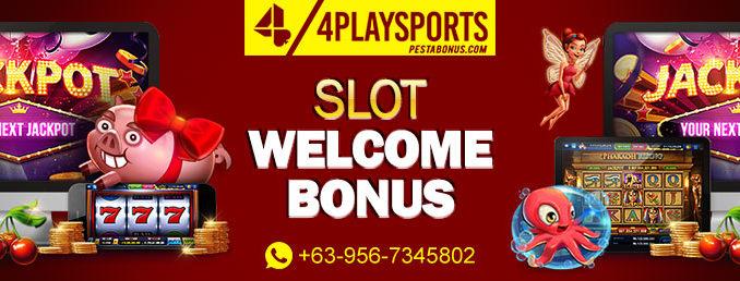 Slot welcome Bonus 4playsports