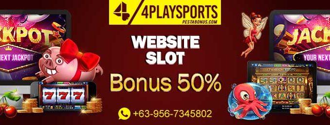 slot bonus deposit 50%